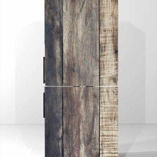 Αυτοκόλλητο ψυγείου Vintage wood