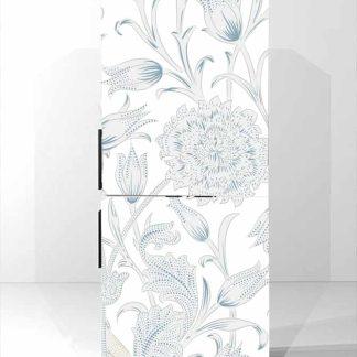 Αυτοκολλητο ψυγειου floral no1