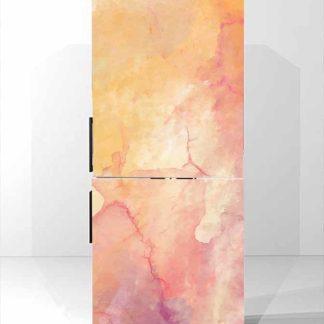 αυτοκολλητο-ψυγείου-orange-abstract