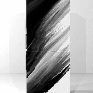 Αυτοκολλητο ψυγείου black art