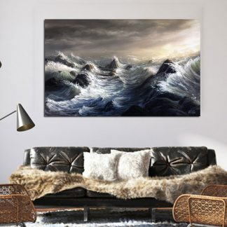 Πίνακας σε καμβά θαλασσογραφία