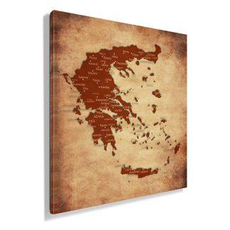 πίνακας-σε-καμβα-χάρτης-της-Ελλάδας