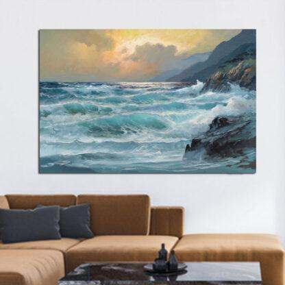 Πίνακας σε καμβά θαλασσογραφία No 2