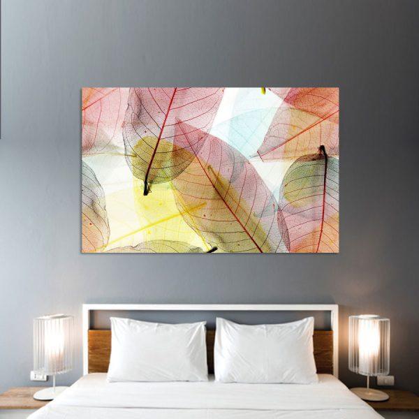 Πίνακας σε καμβά φύλλα