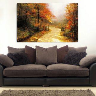 Πίνακας σε καμβά φθινόπωρο