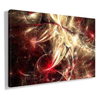 Πίνακας σε καμβά abstract lava