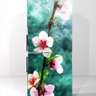 Αυτοκολλητο ψυγείου peach blossom