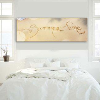 Πανοραμικός πίνακας σε καμβά summer time