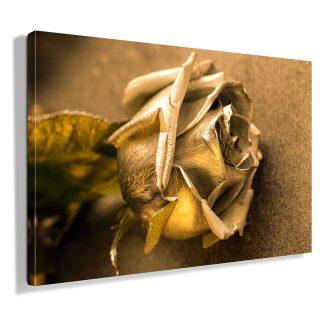 golden-rose-πινακας-σε-καμβα