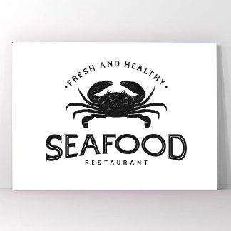 Πίνακας σε καμβά Seafood