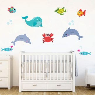 αυτοκολλητα-τοιχου-με-ψαρακια