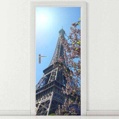 αυτοκόλλητο πόρτας ο πύργος του Άιφελ