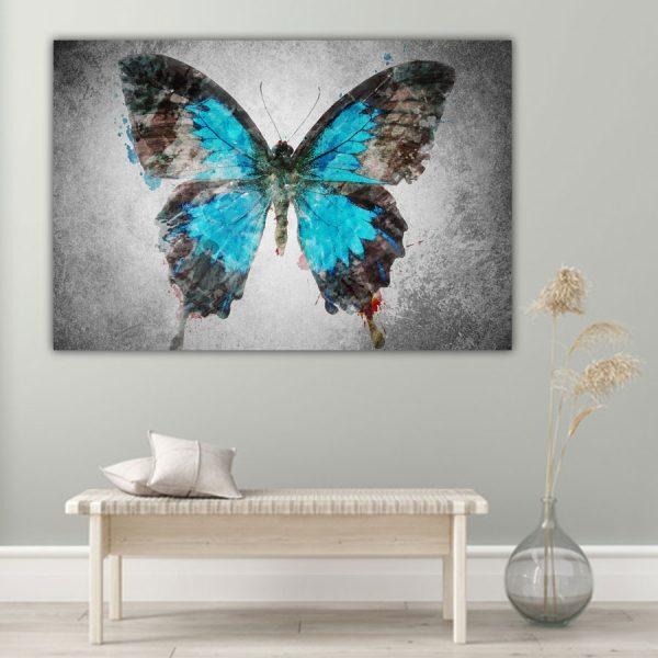 Πίνακας σε καμβά πεταλούδα