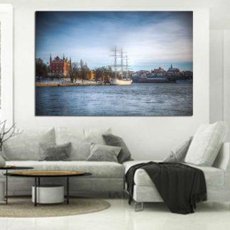 Πίνακας σε καμβά Στοκχόλμη Σουηδία