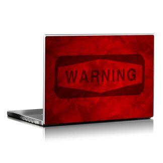 Αυτοκόλλητο λάπτοπ Warning