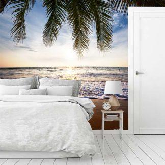 Ταπετσαρια τοιχου ήρεμη τροπική παραλία