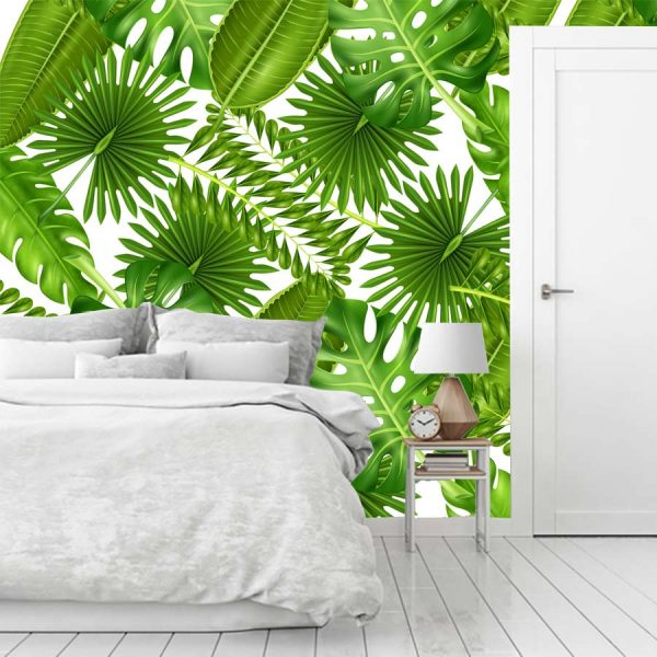 ταπετσαρια τοιχου tropical