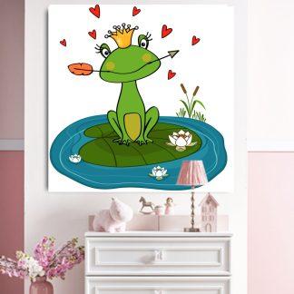 Παιδικος πινακας βατραχος