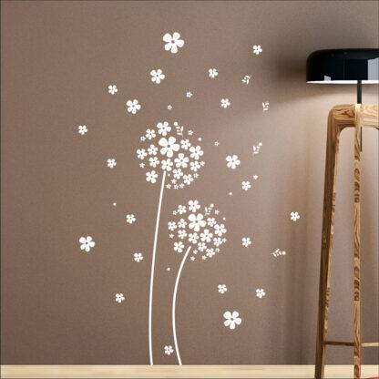 Αυτοκολλητα τοιχου ανθισμένο λουλούδι
