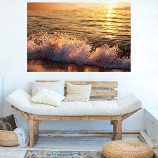 Sand beach πίνακας