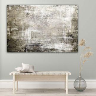 Πίνακας σε καμβα Grunge Brown Abstract
