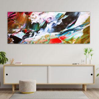 panoramikos pinakas abstract color